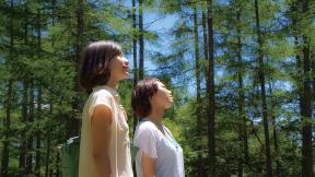富士見高原別荘地「と」地区入口