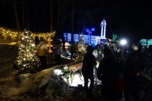 高原の夜が光に包まれる原村 星空のイルミネーション2017、今年は11月18日からスタート