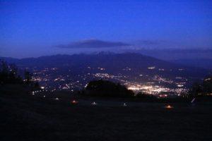 9月の4日間限定! 夜景と星空が迎える富士見パノラマリゾートの「ナイトゴンドラ」