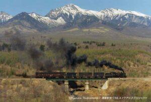 高原を彩った蒸気機関車をみんなの手で再整備! 清里駅前C56メイクアッププロジェクト