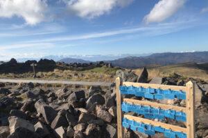 天空の神社で空色の絵馬を奉納! 車山山頂の「空ema」って知ってますか?