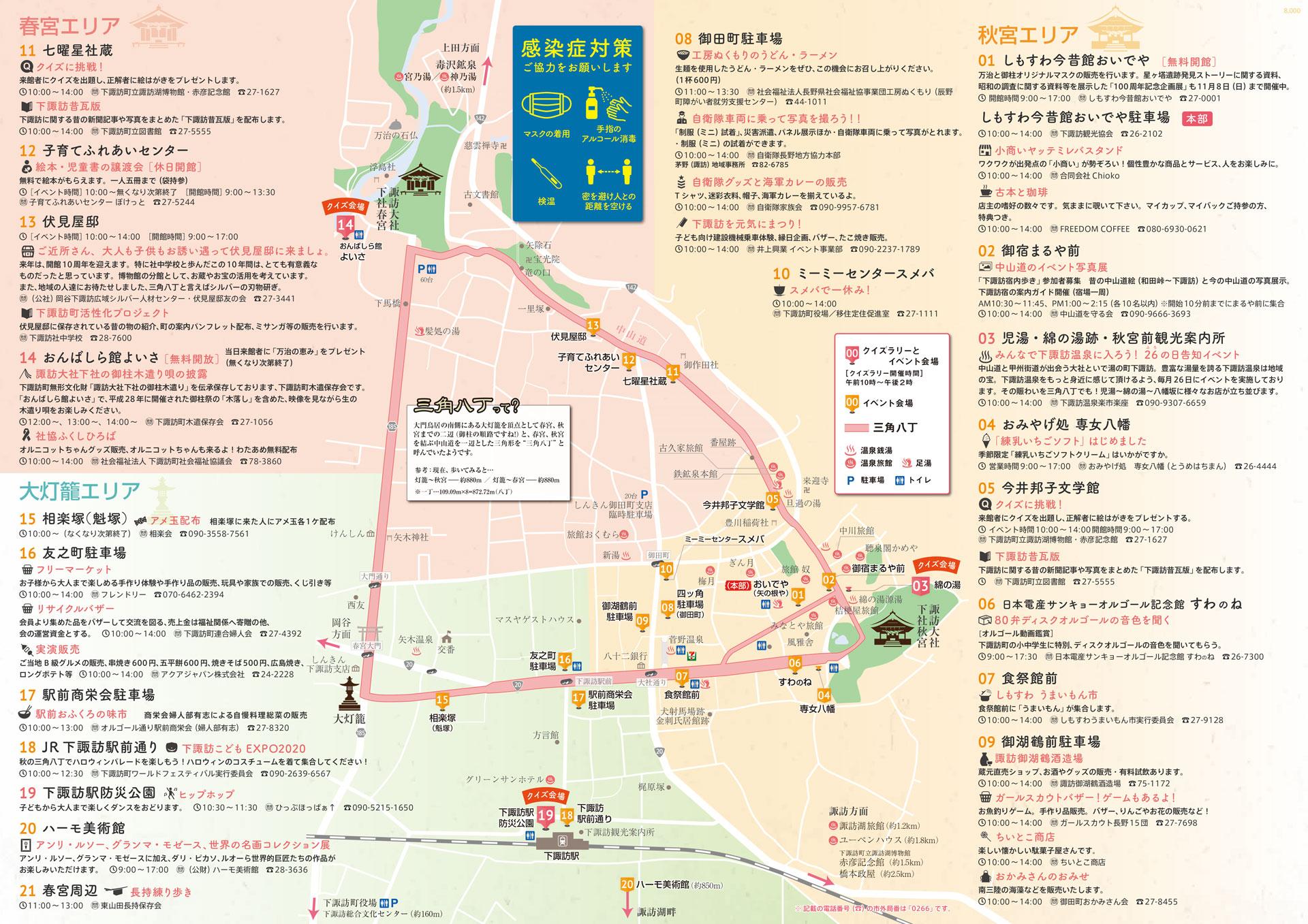 宿場町の趣が残る長野県下諏訪町でまち歩き「ぶらりしもすわ 三角八丁 ...